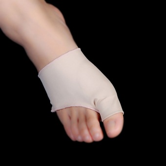 Footful Fabric Gel Bunion Pads Protectors Sleeves Shield Big Toe Joint Anti-friction Insoles Hallux