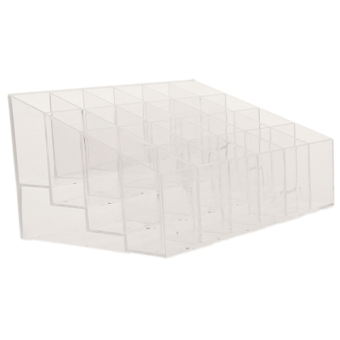 Harga Hanyu Lipstick Display Shelf Clear
