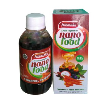 Harga Nano Food Powerfull 19 Fruit & Vegetables Nikmaka -250gr