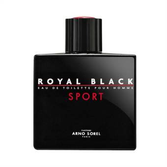 Harga Arno Sorel Royal Black Sport Man - 100 ml