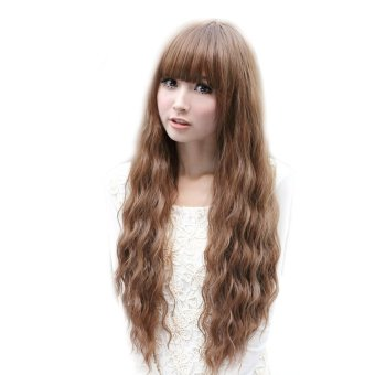 Harga Fluffy Cosplay Long Curly Extensions Wig