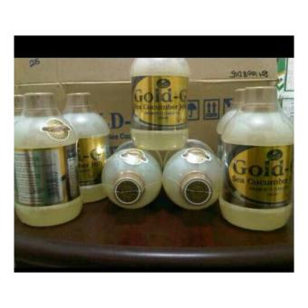 JELLY GAMAT GOLD G SEA CUCUMBER ISI 320ML