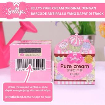 Jellys Pure Cream by Jellys Original Thailand 100%