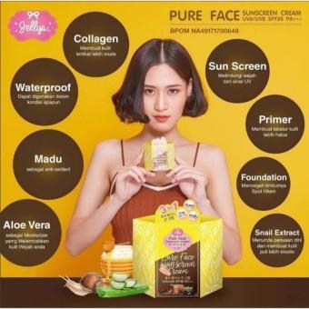Jellys Pure Sunscreen Cream / BPOM / Original Thailand 100% ?