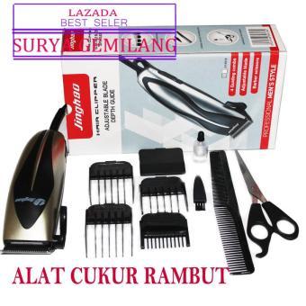 Jinghao Profesional Elektrik Cliper  Alat Cukur Rambut - Hair Clipper 4d546fb03b