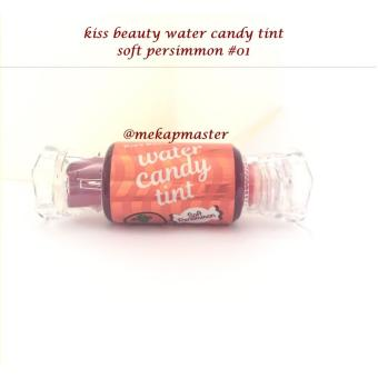 kiss beauty water candy tint - soft persimmon #01