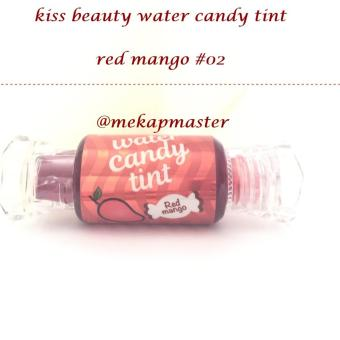 kissbeauty water candy tint - red mango