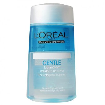 L'Oreal Dermatologist Gentle Lip&Eye Make Up Remover 125m