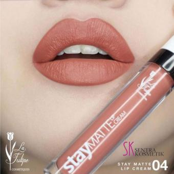 La Tulipe Stay Matte Lip Cream - 04