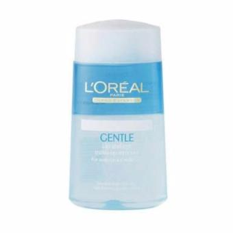 L'Oreal Paris Gentle Lip & Eye Make Up Remover For WaterproofMake Up Dermo Expertise Pembersih Make Up Riasan Wajah 125 ml