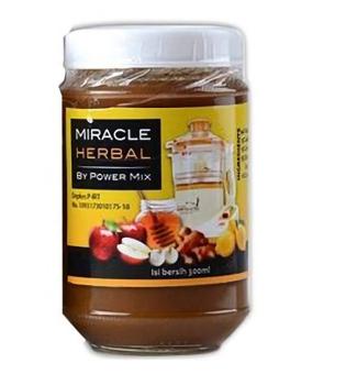Miracle Herbal by Power Mix - Madu Hitam 1 Botol