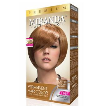 Miranda Hair Color Mc14 - Golden Brown