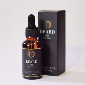 Ombak Beard Oil - Penumbuk Jambang Brewok Jenggot Kumis Rambut