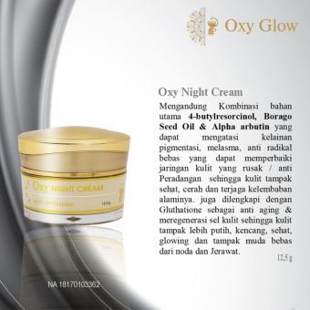 Oxy Glow Night Cream Original OxyGlow Magic Plus Vonvon Gold