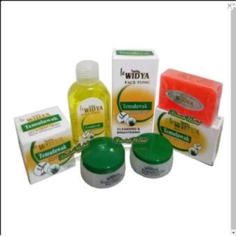 Paket Cream Temulawak Widya Bpom Original-Pencerah Wajah -Cream Siang Cream Malam .Sabun