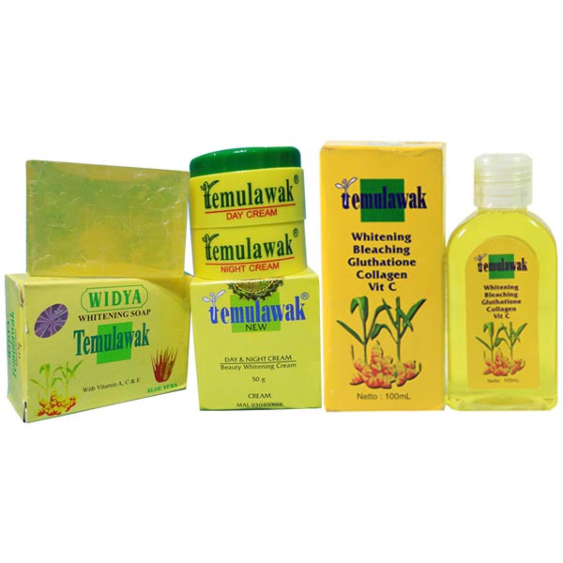Best Price Paket Komplit Cream Temulawak Toner Temulawak Sabun Temulawak Menghilangkan Jerawat Mencerahkan Mengencangkan Wajah -