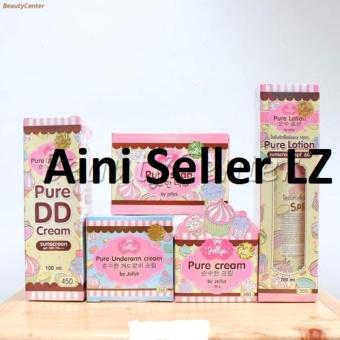 Paket Komplit Jellys Pure Thailand Original 100% (isi 5pcs)