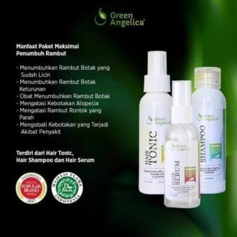 Cek Harga Baru Green Angelica Paket Maximal Menumbuhkan Rambut Botak ... 3811e33686