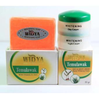 Paket Temulawak Widya Original BPOM - Cream Temulawak Widya Pencerah Wajah 100% Asli