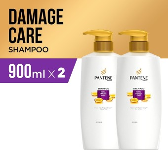 Pantene Shampoo Total Damage Care Quantum 900ml - PACK OF 2