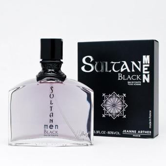 PARFUM PRIA ORIGINAL TAHAN LAMA Import Arthes Sultane Black For Men /Import Murah Debiru Minyak