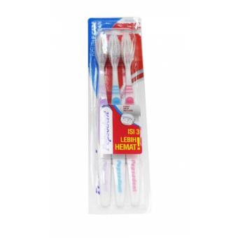 Pepsodent Toothbrush Double Care Clean 2+1