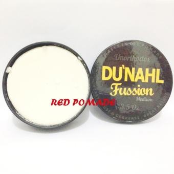 POMADE DUNAHL DU'NAHL FUSSION MEDIUM 3.5 OZ UNORTHODOX WATERBASED + FREE SISIR SAKU