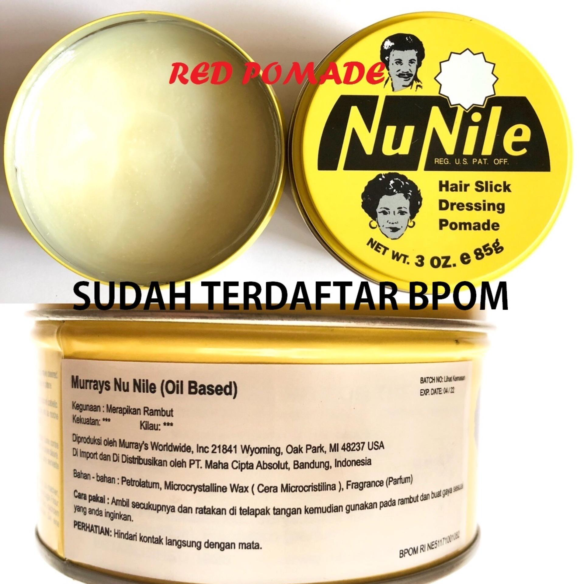 Bandingkan Toko Pomade Murray s Murrays Nu nile Nunile Medium Oilbased Oil Based 3 Oz Sudah