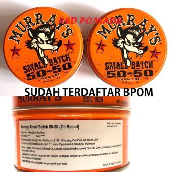 Pomade Murray's Murrays - Small Batch 50-50 Special Edition Oil Based Oilbased Sudah BPOM
