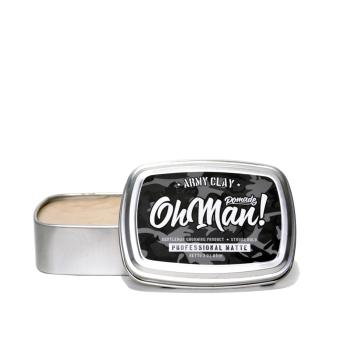 Pomade Oh Man Army Clay The Proffesional Matte Waterbased 85 Gram
