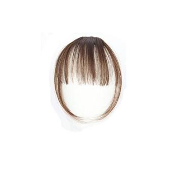 Pretty Girls Klip Pada Klip Di Rambut Depan Bang Fringe Hair Extension Piece Tipis-Intl