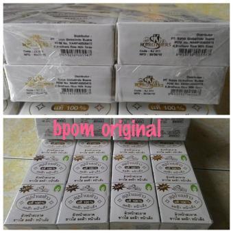 promo BPOM New Packaging Sabun Beras Susu Thailand K-brothers original