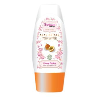 Zahyra beauty shop - Purbasari Alas Bedak Foundation Daily Series 02 Kuning Gading  35ML