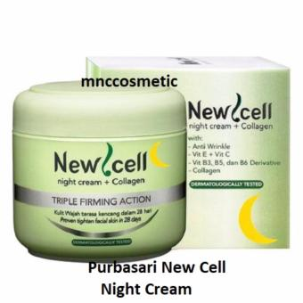 Purbasari New Cell Night Cream