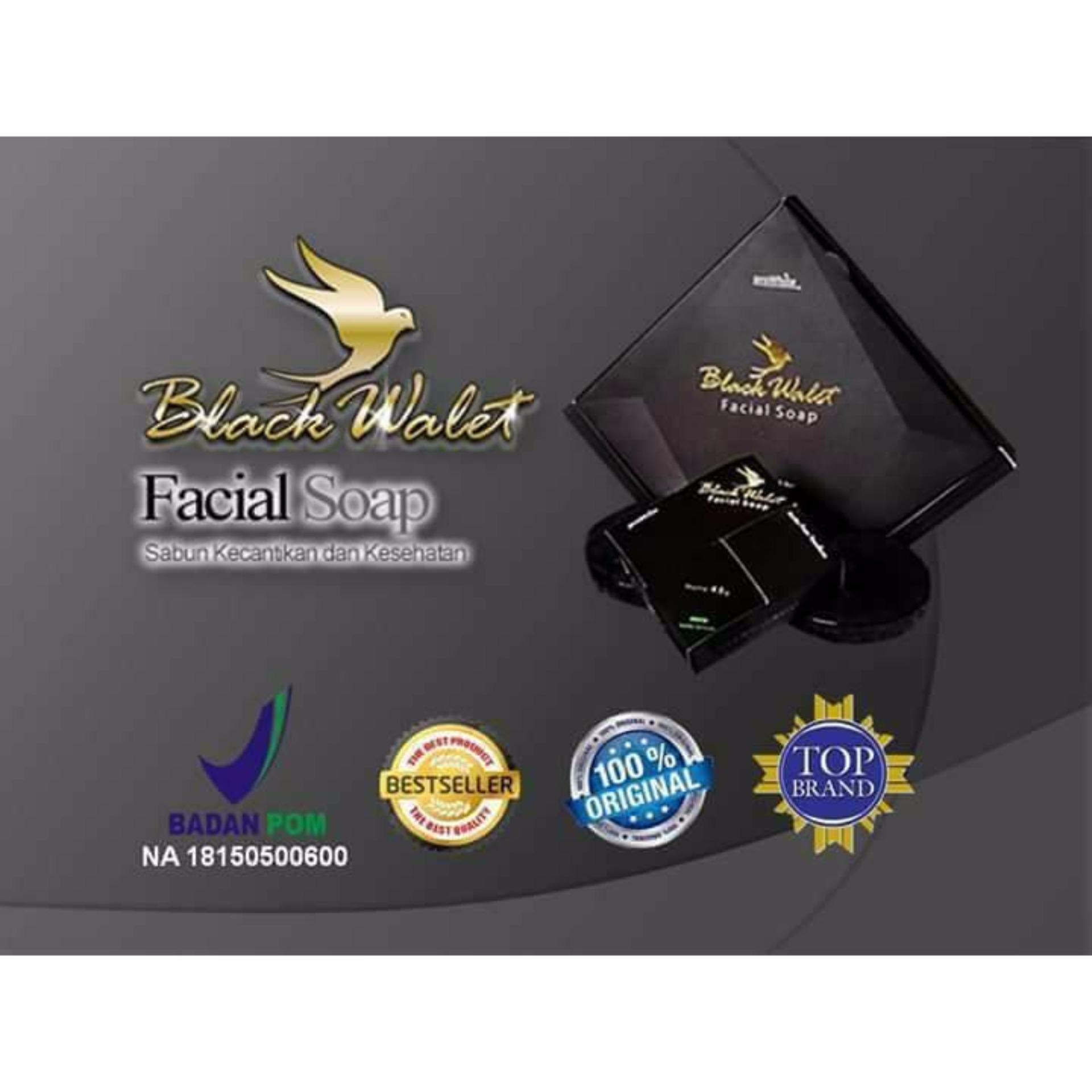 Hot Deals Black Walet Facial Soap BPOM CV Rajawali Emas Sabun Pembersih dan pemutih Wajah