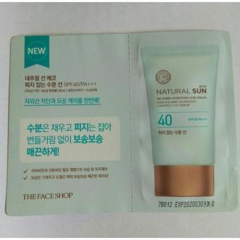 SAMPLE Natural Sun No Shine Hydrating Sun Cream