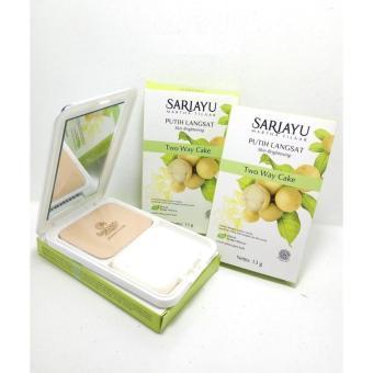 Sariayu Two Way Cake Putih Langsat