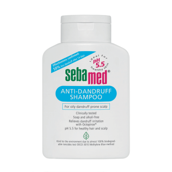 Sebamed Anti Dandruff Shampoo 400ml - Shampoo Anti Ketombe, Sampo, Shampo