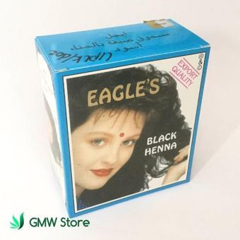 Semir Rambut Herbal Eagle's Black Henna Hair Dye Hitam Sachet N513