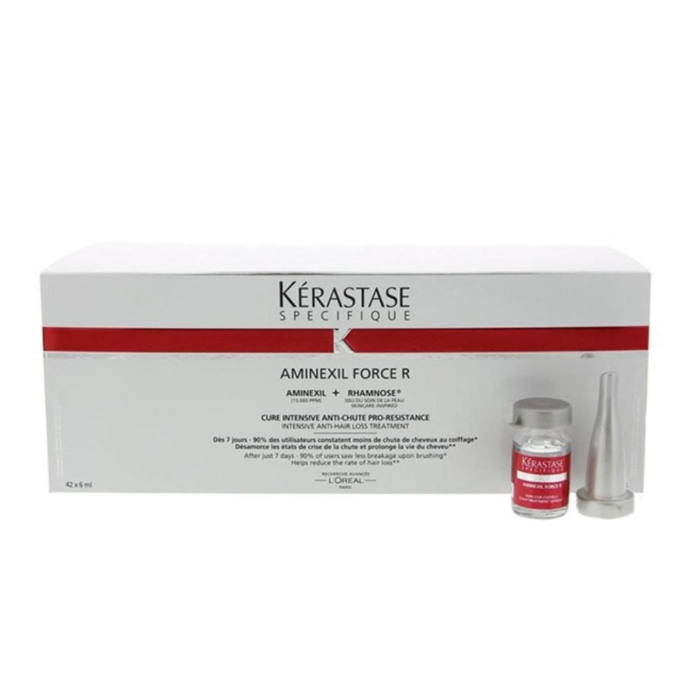 serum anti rontok kerastase aminexil force r / serum penumbuh rambut original kerastase [ 10ampul ]