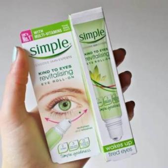 SIMPLE Revitalising Eye Roll On 15Ml