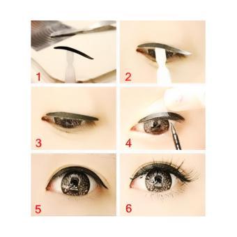 Stiker Mata Hitam Tipis scott eyeliner eyelid