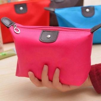 TOKO49 - Tas Dompet Kosmetik Alat Make Up - Pink Muda