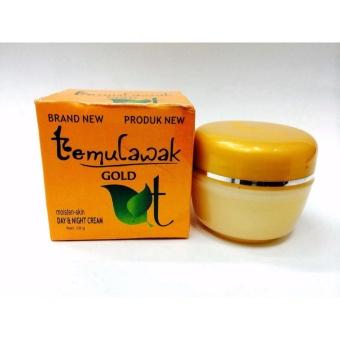 Temulawak Gold Cream Siang & Malam - Cream Temulawak Gold Whitening Series