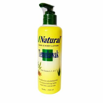 Temulawak V Natural Hand And Body Lotion - Lotion Temulawak BPOM