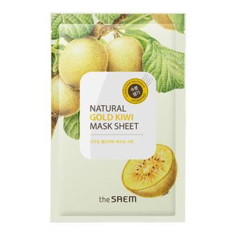 The Saem Natural Gold Kiwi Mask Sheet 1 Pack