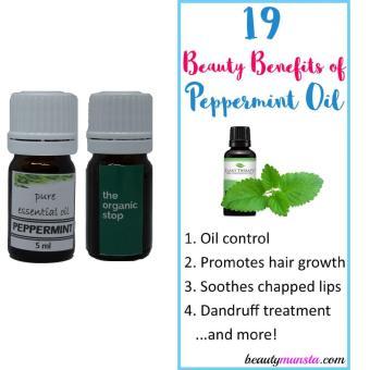 THeOrganicStop 100% Pure Peppermint Essential Oil Murni Minyak Kecantikan 5 ml