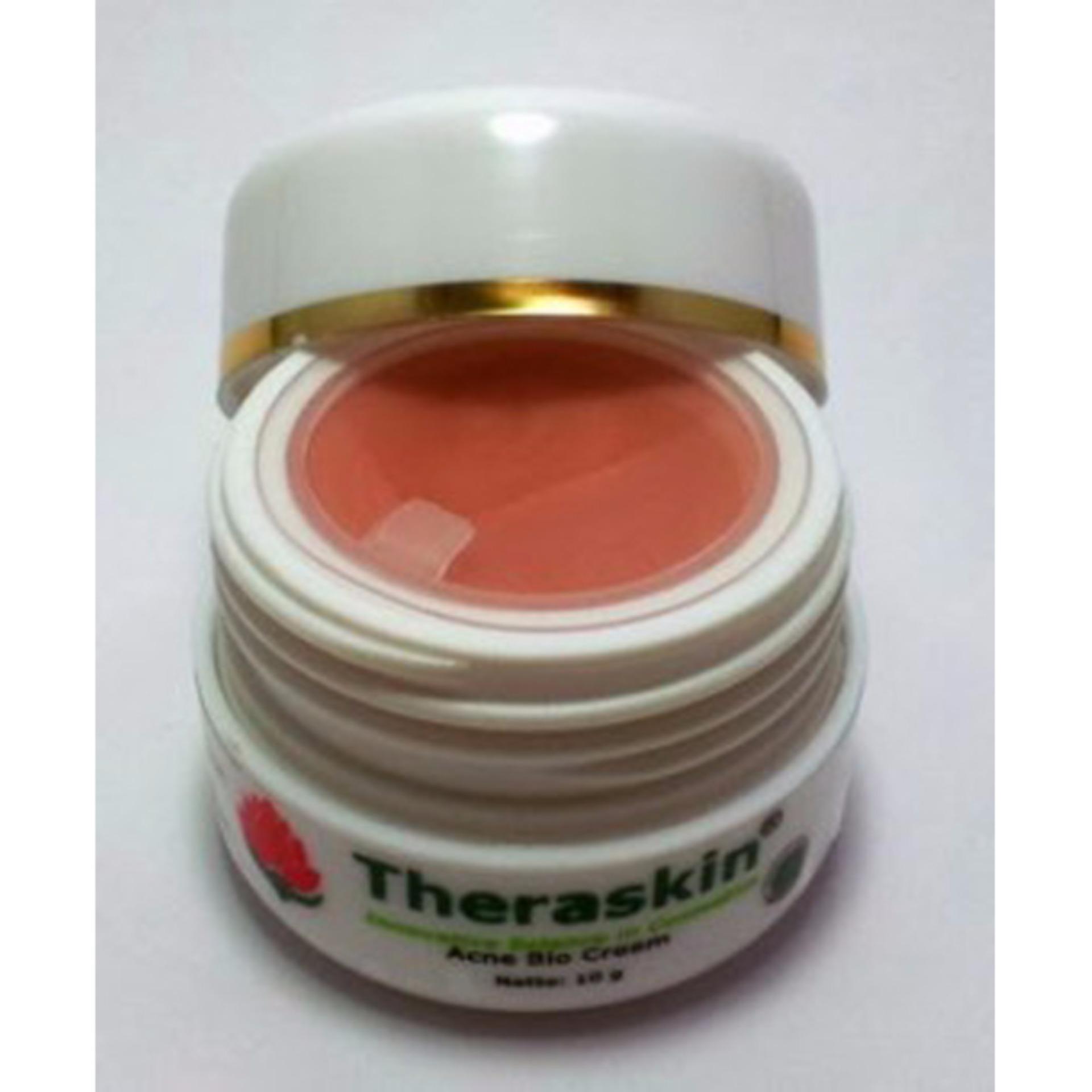Paket Theraskin Acne 4in1 Original Pemutih Wajah 1 Daftar Oily Source Hot Deals