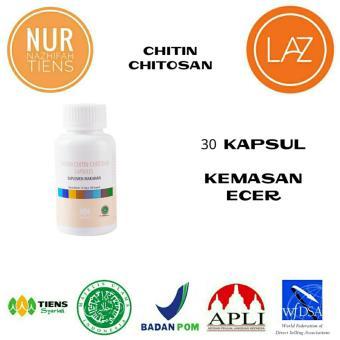 Tiens Masker Chitin Chitosan Herbal Alami Halal Anti Jerawat - Promo Paket 30 Kapsul + Free