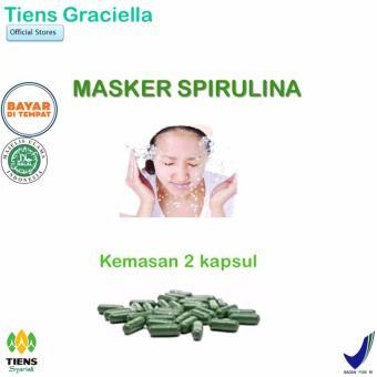 Tiens Masker Spirulina Pemutih Wajah Paket Promo Banting Harga 2 Kapsul Toko Tiens Graciella